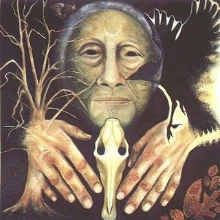 šamanismus léčení  magie