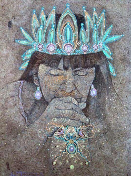 šamanka léčení duše