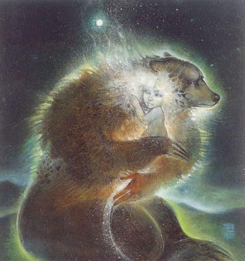 silové zvíře  medvěd