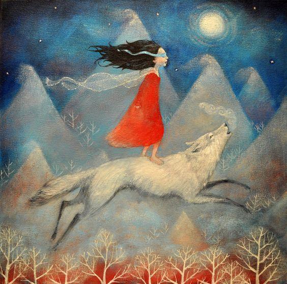 silové zvíře  vlk