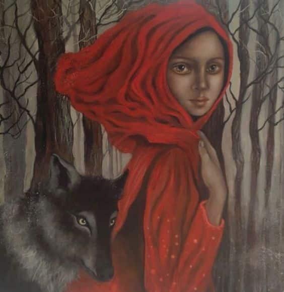 pohádka vlk karkulka svoboda les