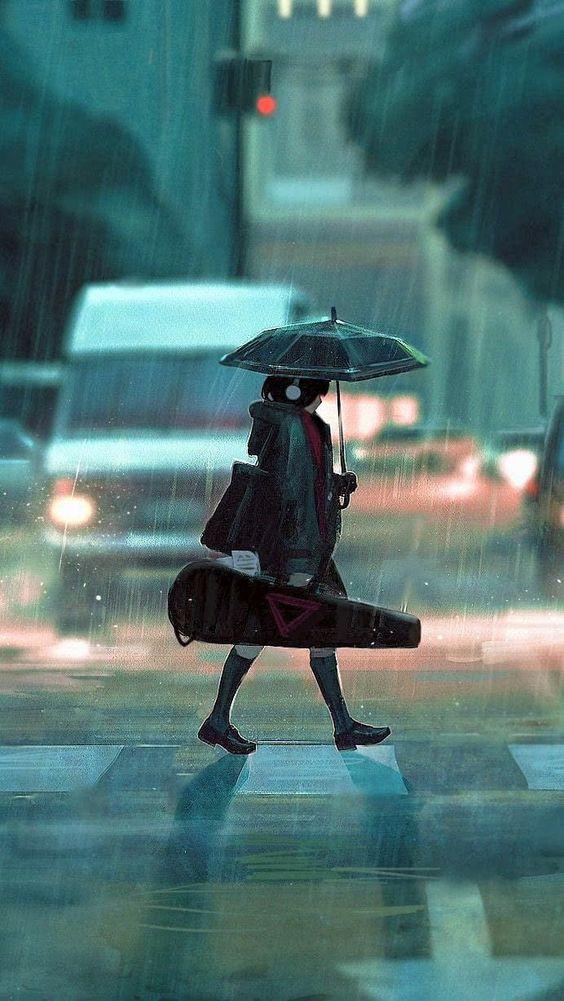 déšť  individualita